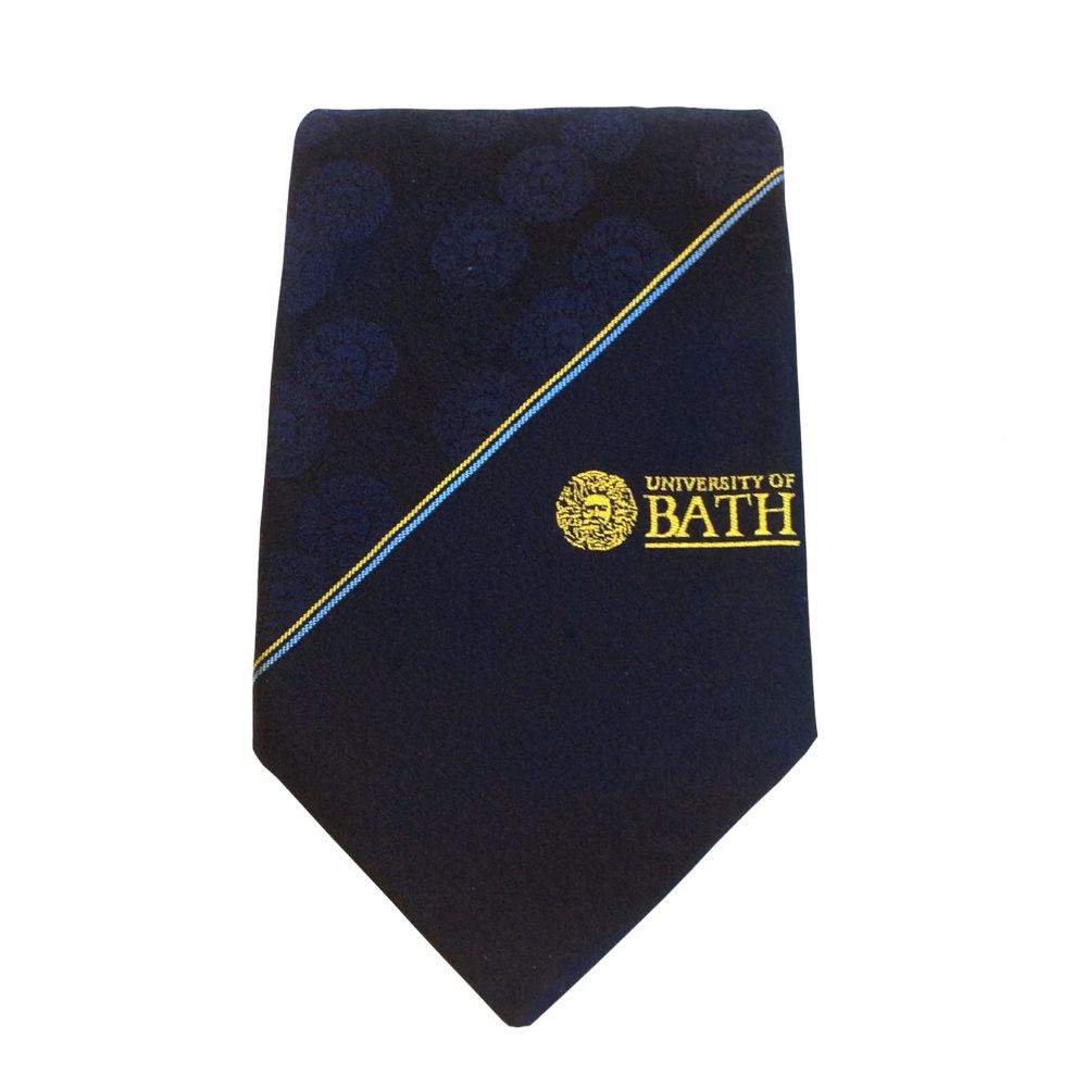 University of Bath 100% Silk Tie - Gorgons Head